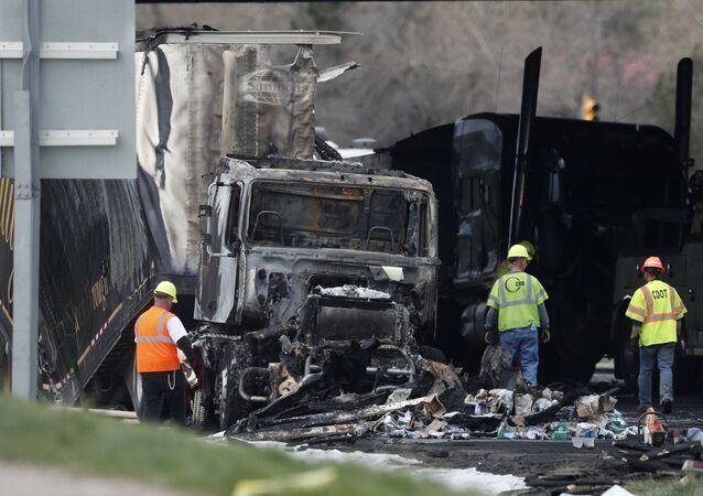 Acidente de trânsito (imagem referencial)