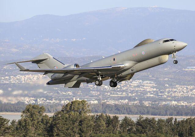 Avião Bombardier Global Express Sentinel R.1 da Força Aérea Real do Reino Unido
