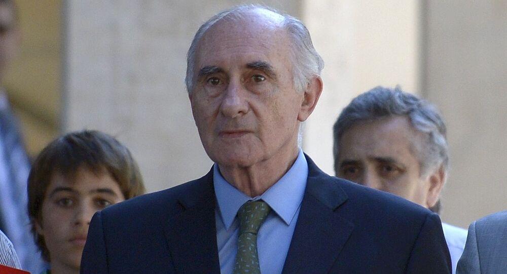 Fernando De la Rúa, ex-presidente de Argentina