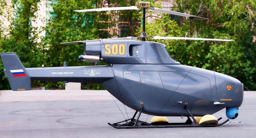 Drone helicóptero russo BVS VT 500