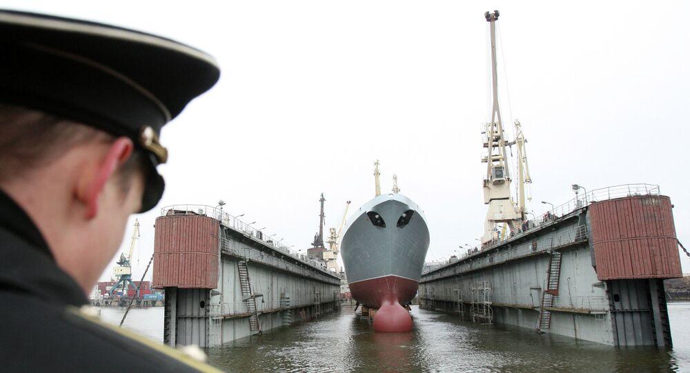 Fragata Almirante Gorshkov.