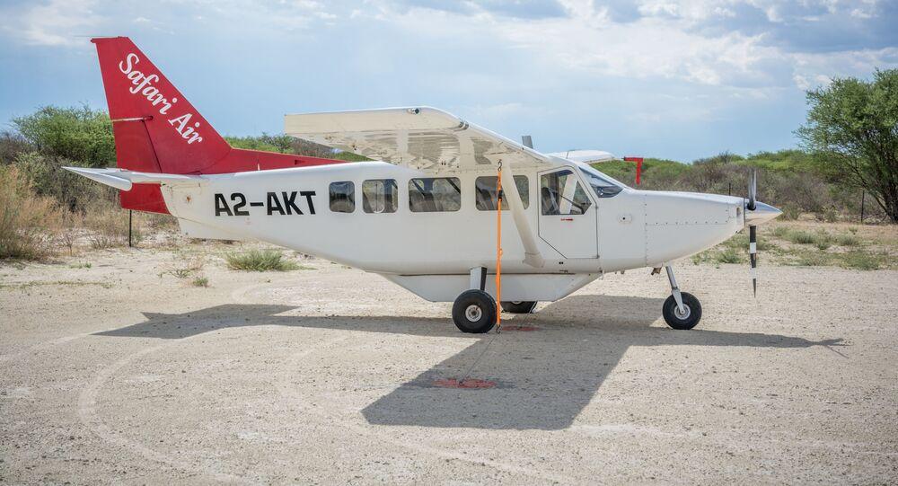 Avião GippsAero GA8 Airvan (imagem referencial)