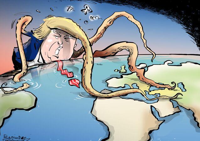 Trump se confundiu sobre dimensão dos EUA