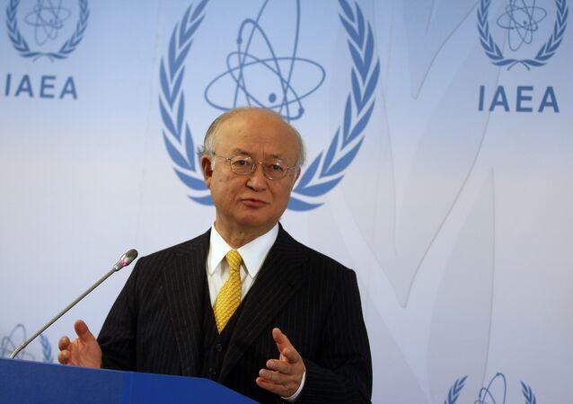 Diretor da Agência Internacional de Energia Atômica, Yukiya Amano