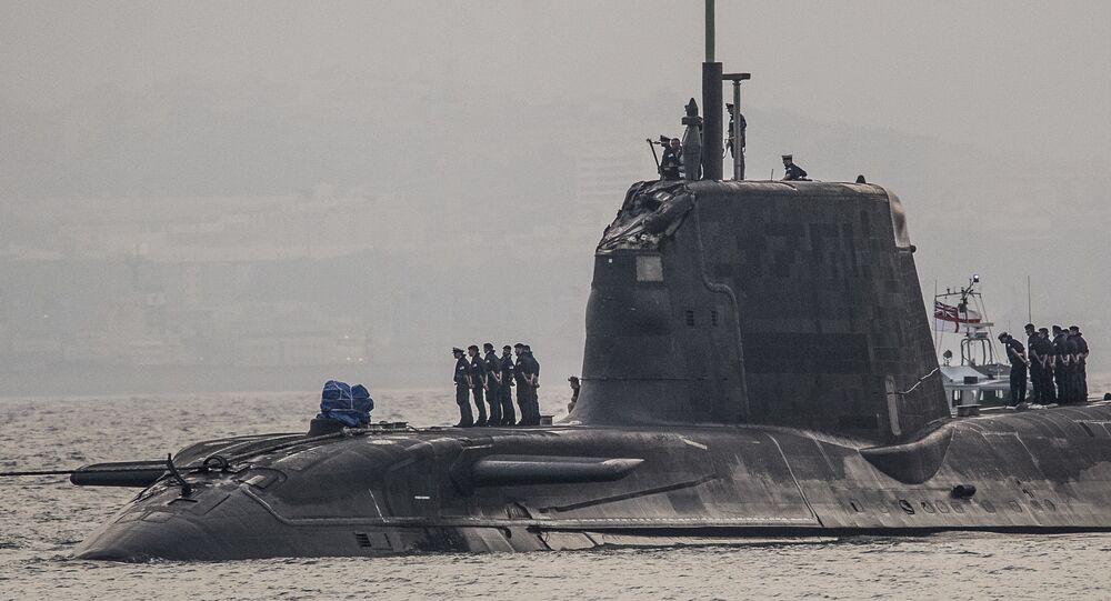 Submarino da Marinha Real britânica (imagem referencial)