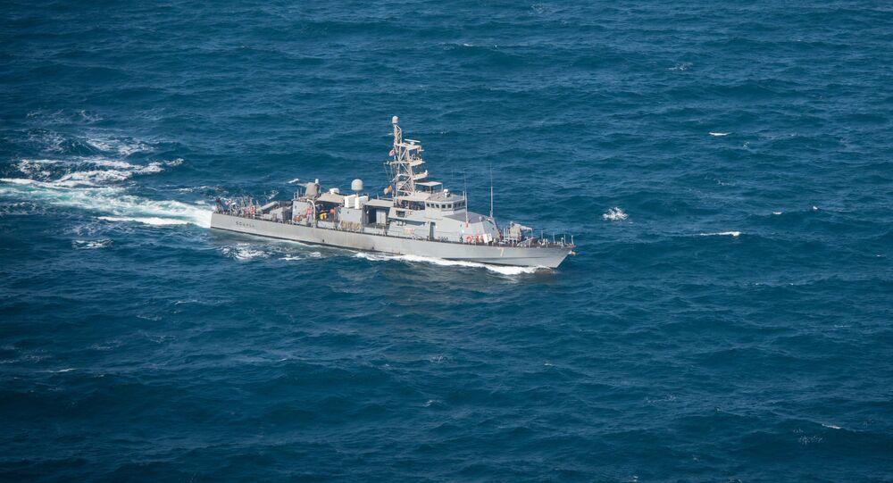 Embarcação norte-americana USS Squall (PC 7) transitando no golfo Pérsico (imagem de arquivo)