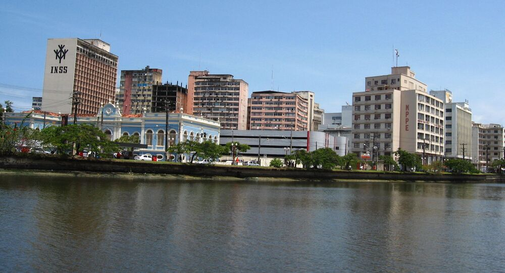 Recife, rio Capibaribe