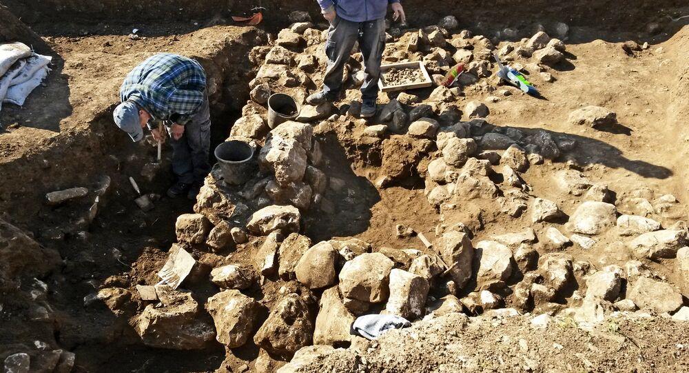 Escavações arqueológicas em Israel (foto de arquivo)