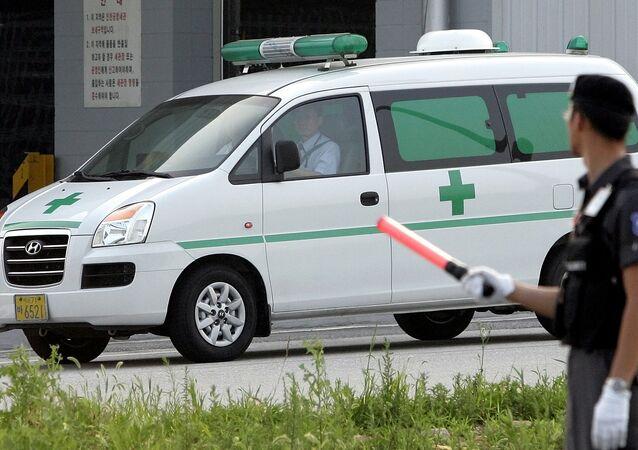Ambulância sul-coreana