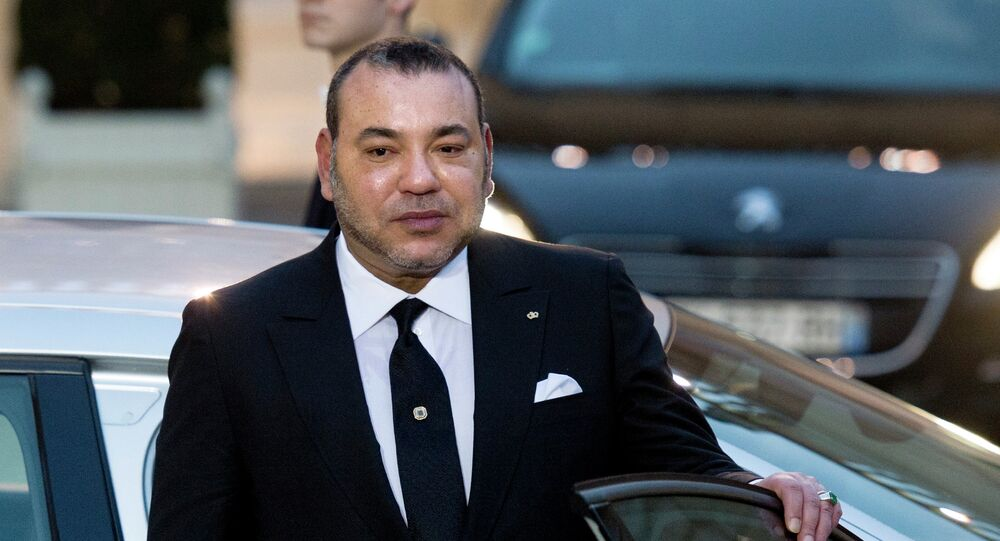 Mohammed VI, rei do Marrocos.
