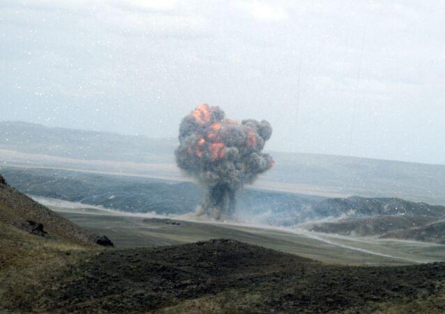 Destruição de mísseis de curto alcance no âmbito do Tratado INF com os EUA (foto de arquivo)