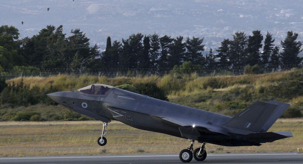 Caça F-35B (foto de arquivo)