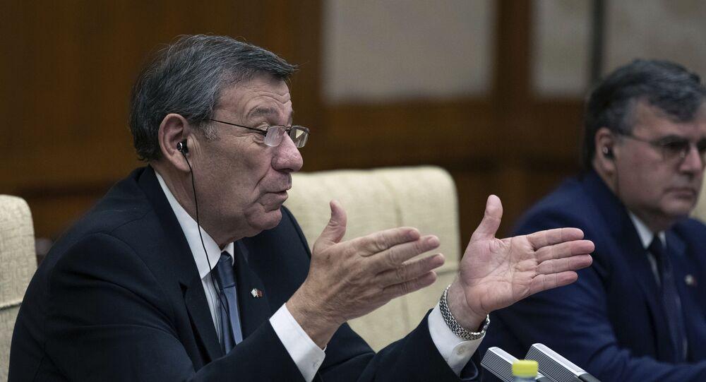 Rodolfo Nin Novoa, chanceler do Uruguai (foto de arquivo)