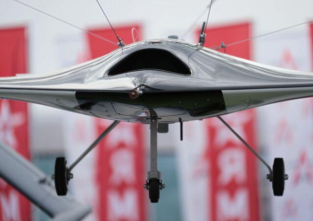 Drone russo Okhotnik