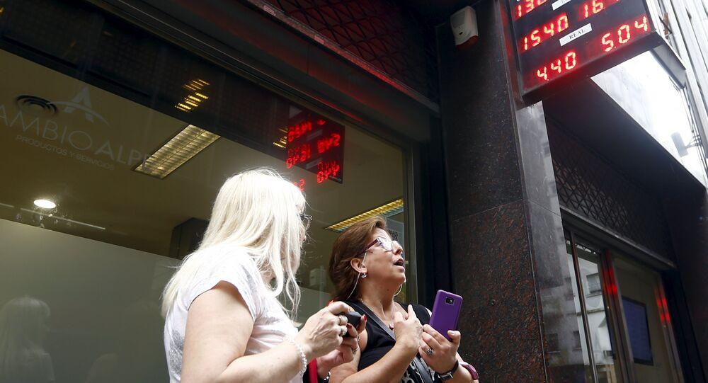 Desvalorização do peso argentino