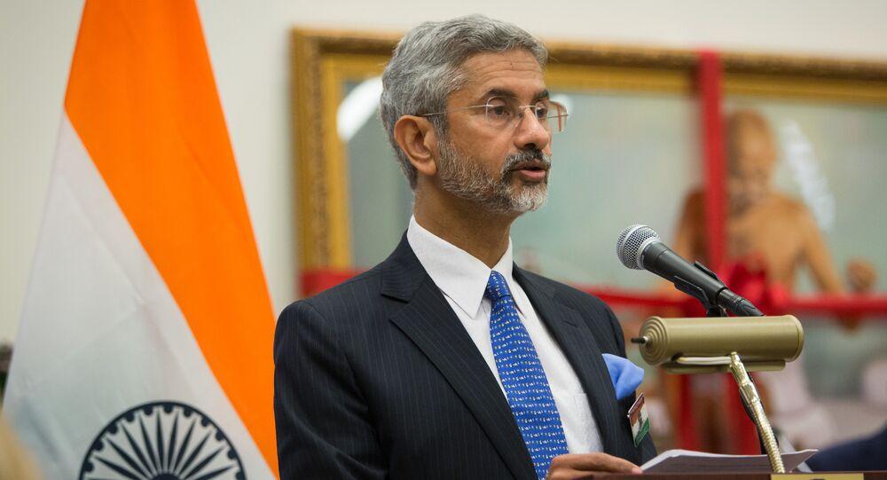 O ministro das Relações Exteriores da Índia, Subrahmanyam Jaishankar (Arquivo).