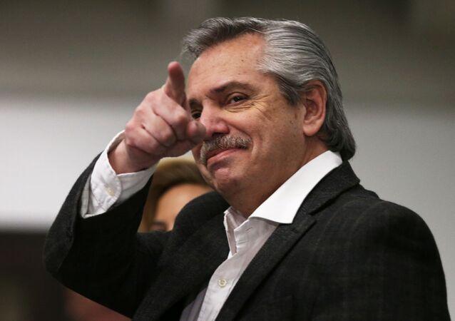 Alberto Fernández, candidato a presidente da Argentina.