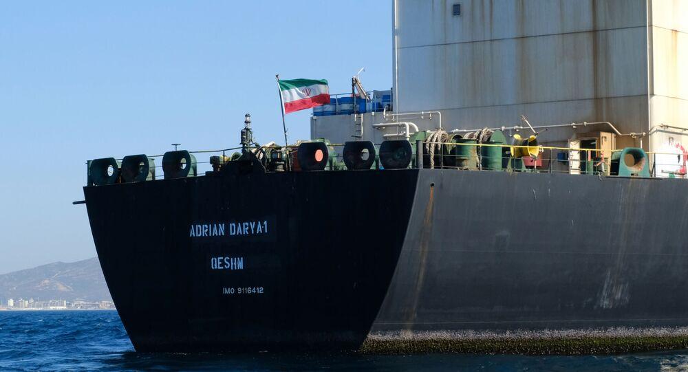 Petroleiro iraniano Adrian Darya (foto de arquivo)