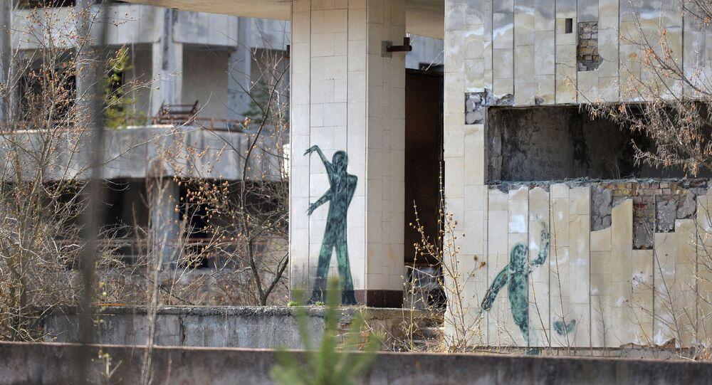 Zona de exclusão de Chernobyl, cidade de Pripyat
