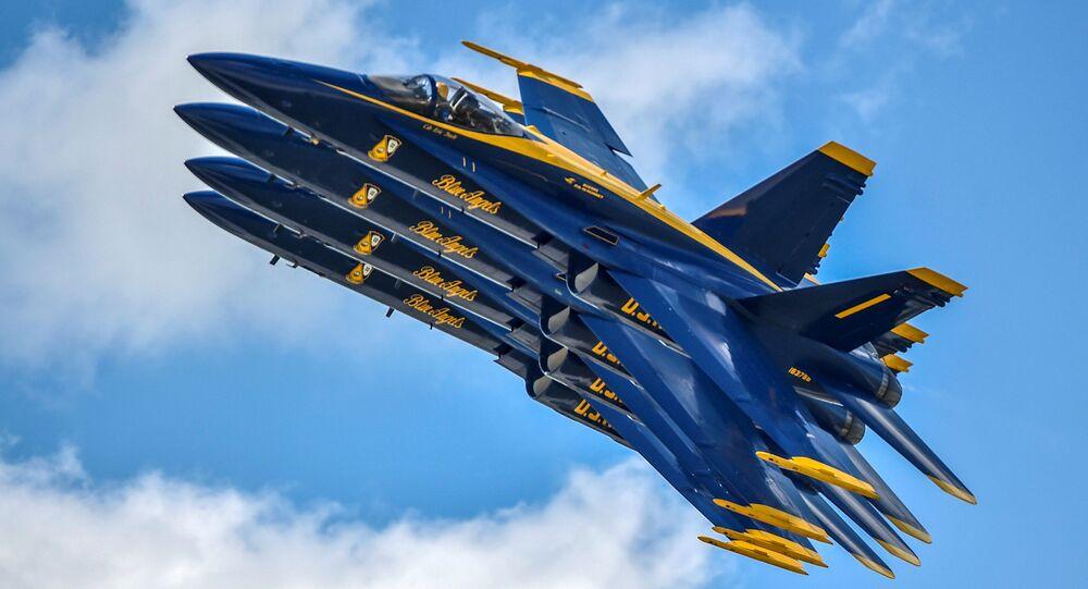 Blue Angels da Marinha dos EUA
