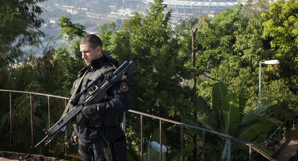 Policial do BOPE no RJ