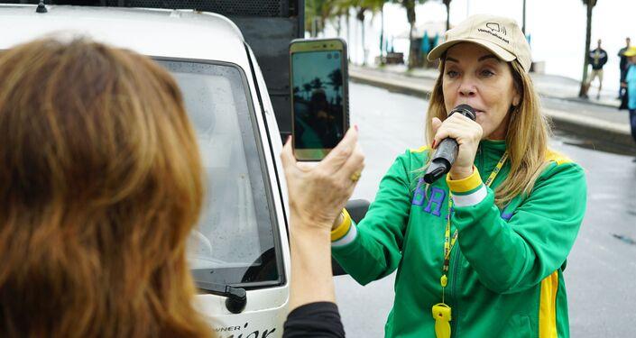Adriana Balthazar, advogada e porta-voz do movimento Vem Pra Rua.