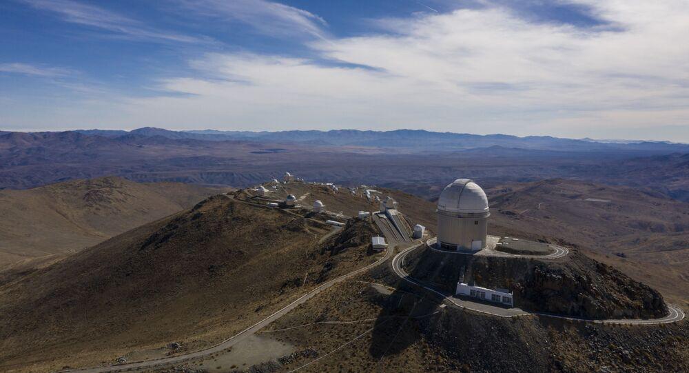 Observatório Europeu do Sul no deserto de Atacama, cerca de 600 quilômetros ao norte de Santiago