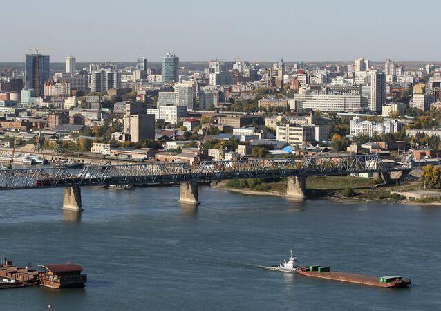 Cidade de Novosibirsk, Rússia (imagem referencial)