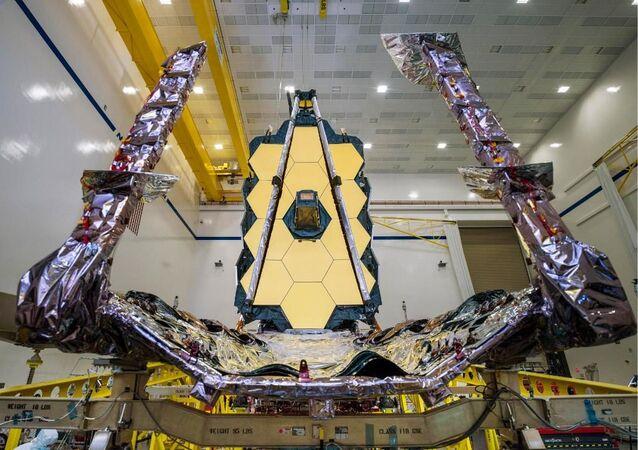 Telescópio Espacial James Webb da NASA, previsto para lançamento em 2021