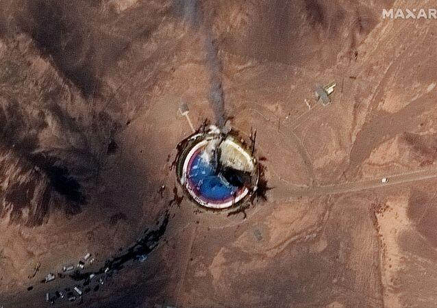Suposta falha durante lançamento de foguete iraniano com satélite a bordo, em 29 de agosto de 2019