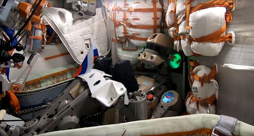Robô humanóide Skybot F-850 (Fyodor)
