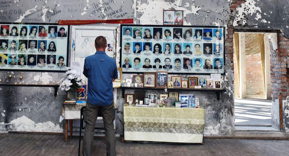 Memorial homenageia vítimas de massacre de Beslan.