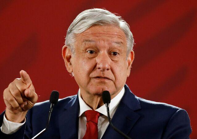 O presidente do México, Andrés Manuel López Obrador.