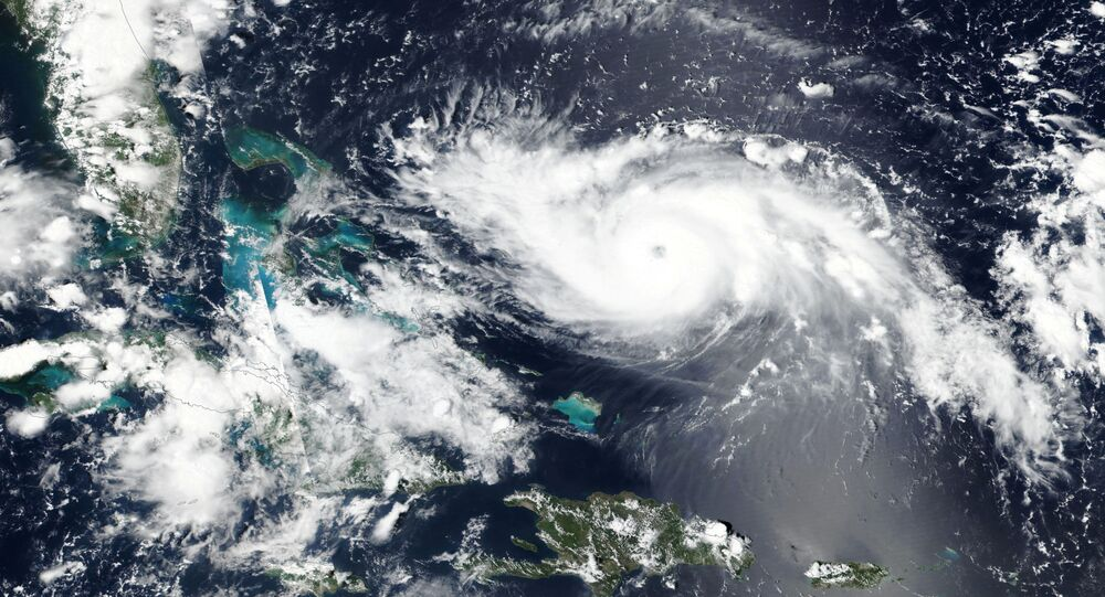 Furacão Dorian se aproxima da costa da Flórida, nos EUA, em 30 de agosto de 2019