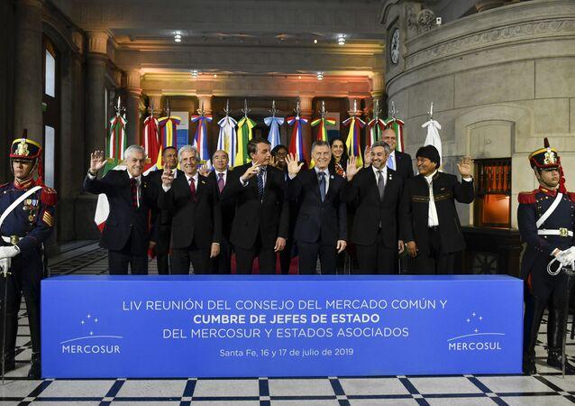 Reunião dos líderes do Mercosul na Argentina