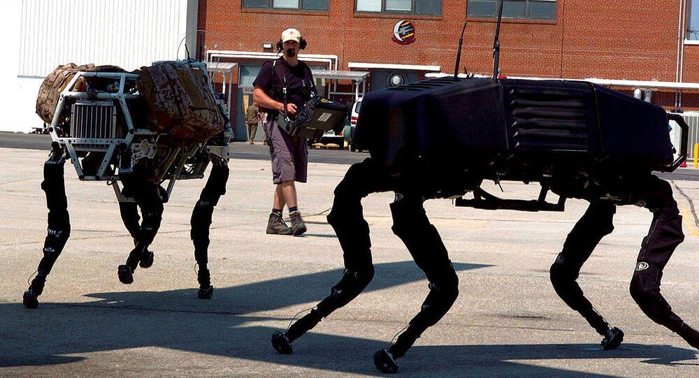 BigDog, robô criado em 2005 pela Boston Dynamics