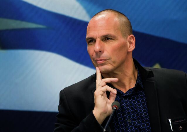 Ministro das Finanças da Grécia, Yanis Varoufakis