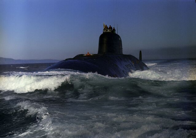 Submarino nuclear da Marinha das Forças Armadas da URSS