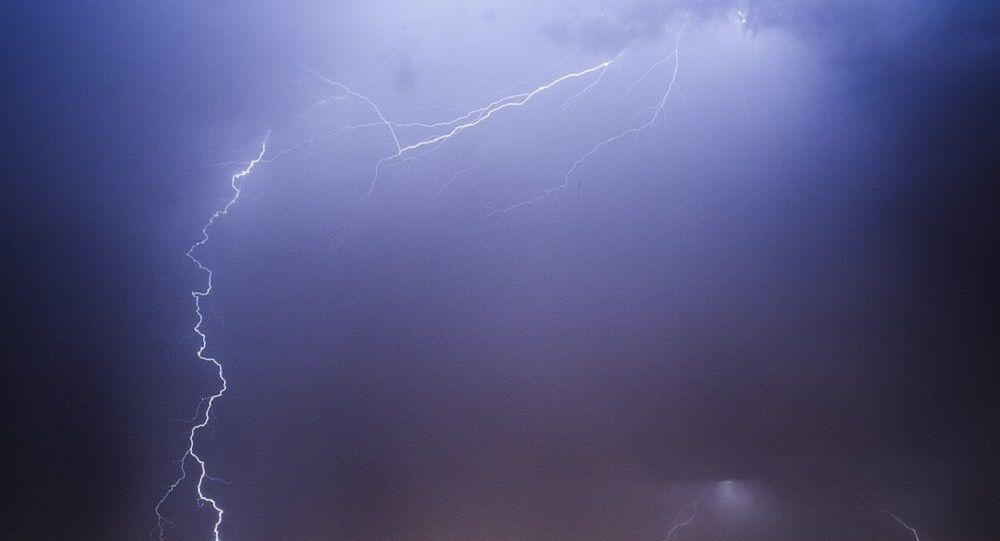 Um raio (imagem referencial)