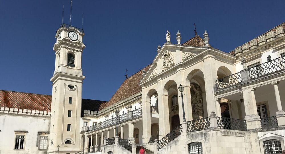 Universidade de Coimbra, Portugal (foto de arquivo)