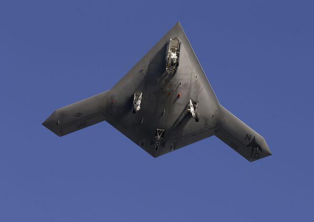 Drone experimental da Marinha norte-americana (imagem referencial)