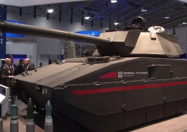Tanque Griffin da empresa de defesa dos EUA General Dynamics