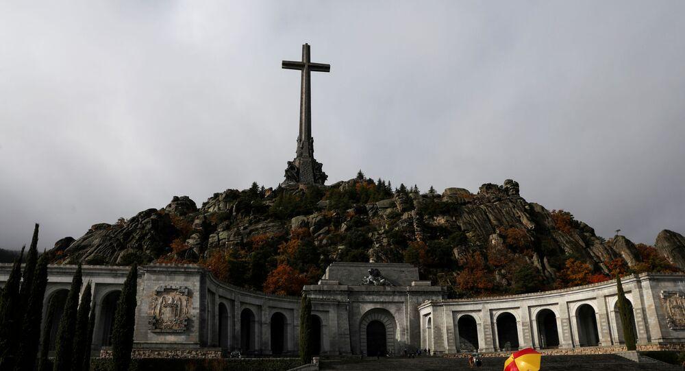 Vale dos Caídos, mausoléu onde estão os restos mortais de Francisco Franco, nas cercanias de Madri