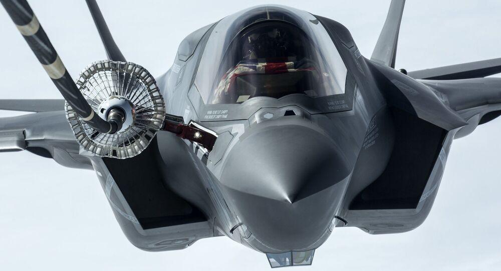 Caça americano F-35B Lightning II