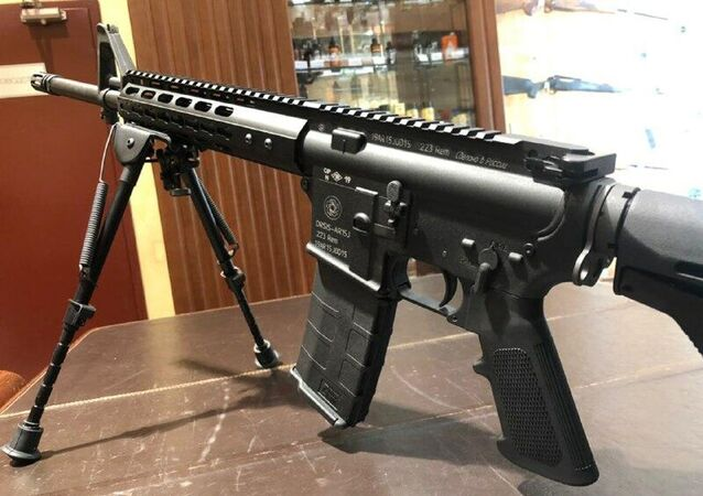 Fuzil russo ORSIS-AR15J