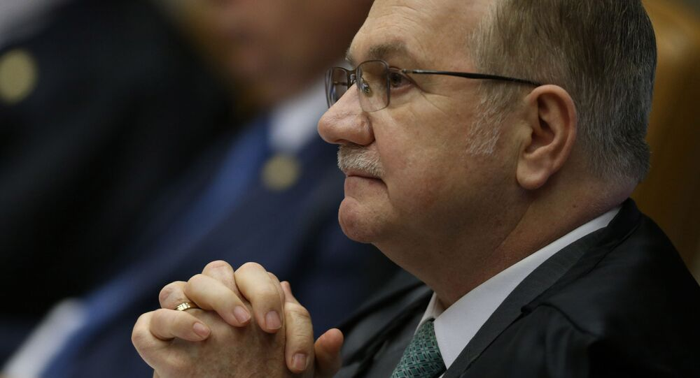 Edson Fachin, ministro do Supremo Tribunal Federal