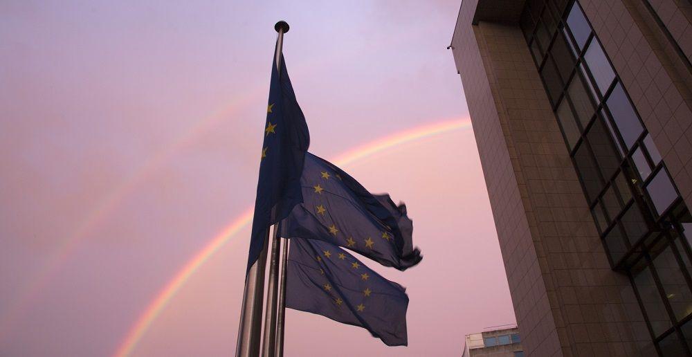 Prédio do Conselho Europeu em Bruxelas, Bélgica