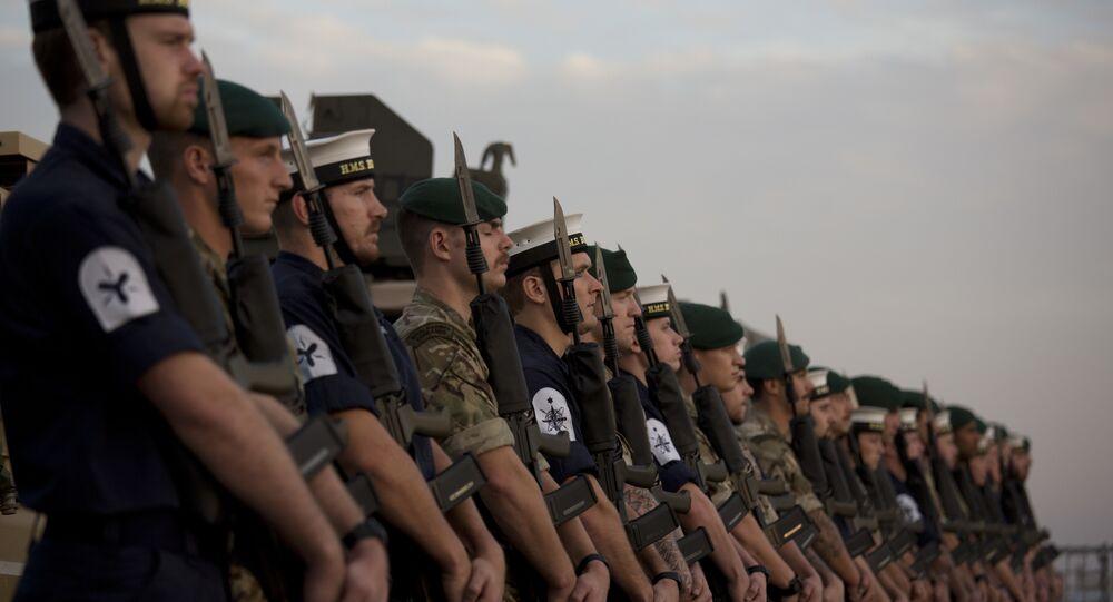 Militares da Marinha Real do Reino Unido