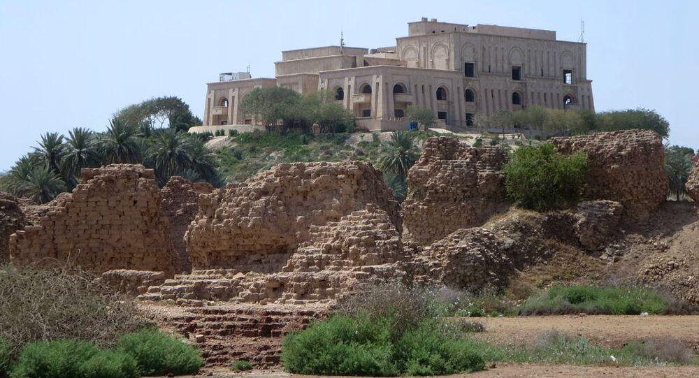 Palácio de Sadam Husein na Babilônia