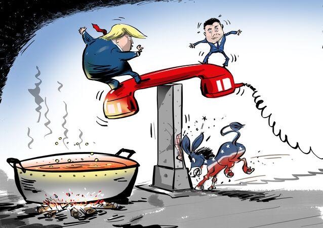 Fazendo Trump saltar do cargo